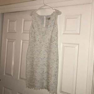 NWT White lace loft dress